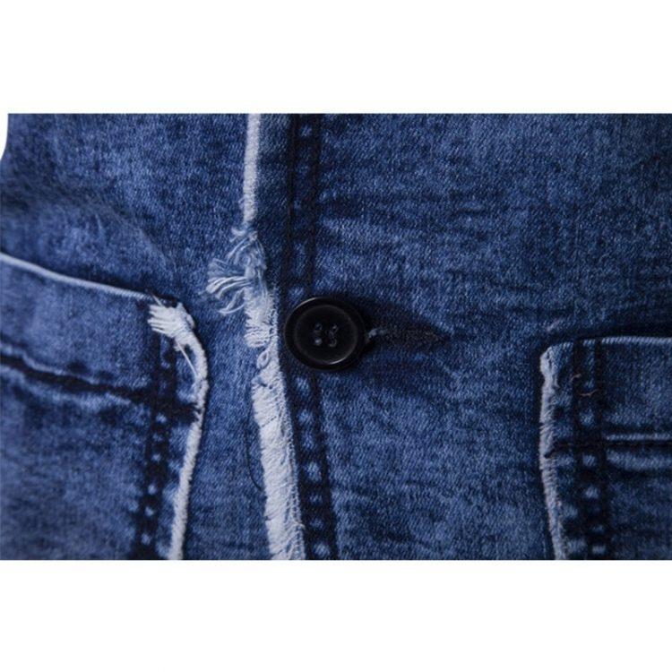 Casual Denim Jacket Fashion Blazer