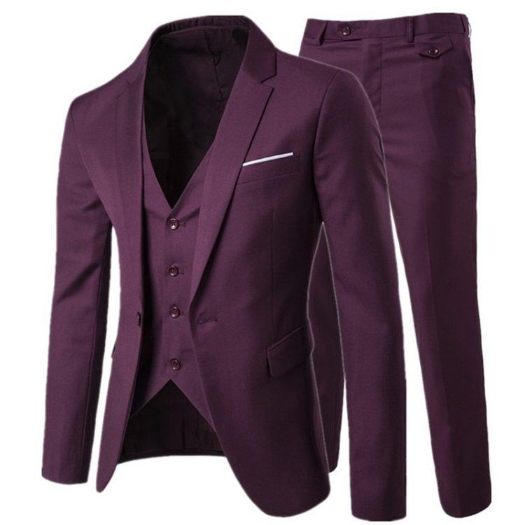 Fashion Slim Suits Groomsman