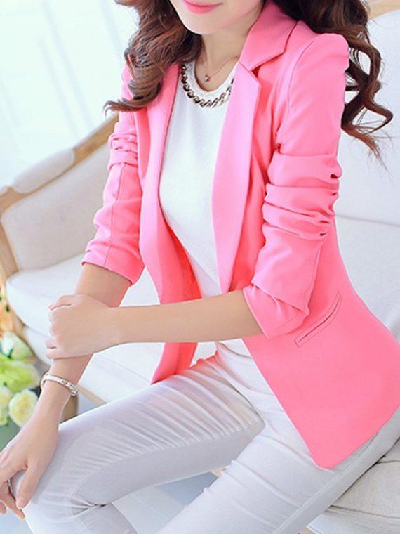 Ladies Blazer Women Suit Jacket