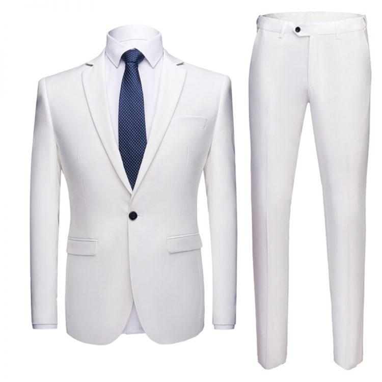 Men's Suits Formal Blazer Pants