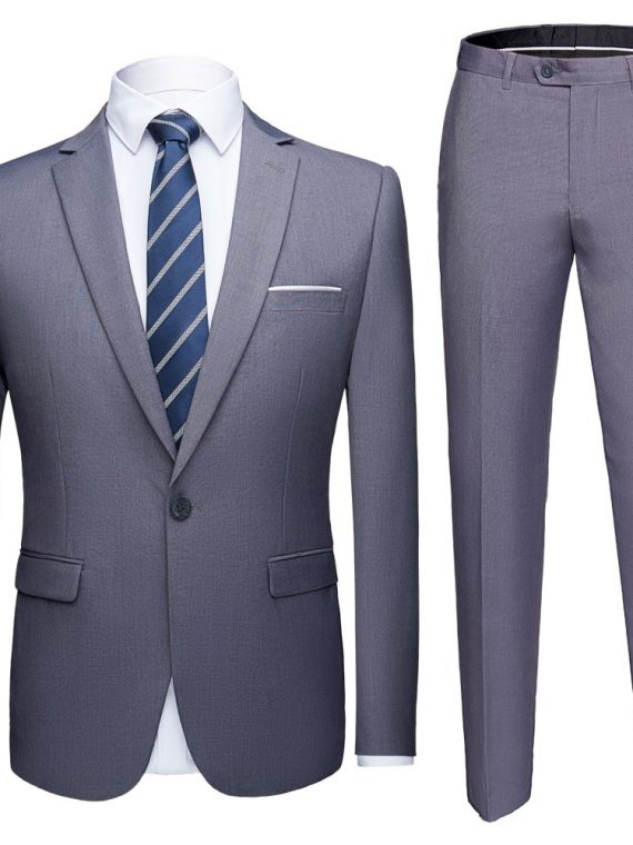 Men's Suits Formal Blazer Pants