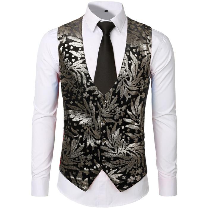 Paisley Floral Dress Vests