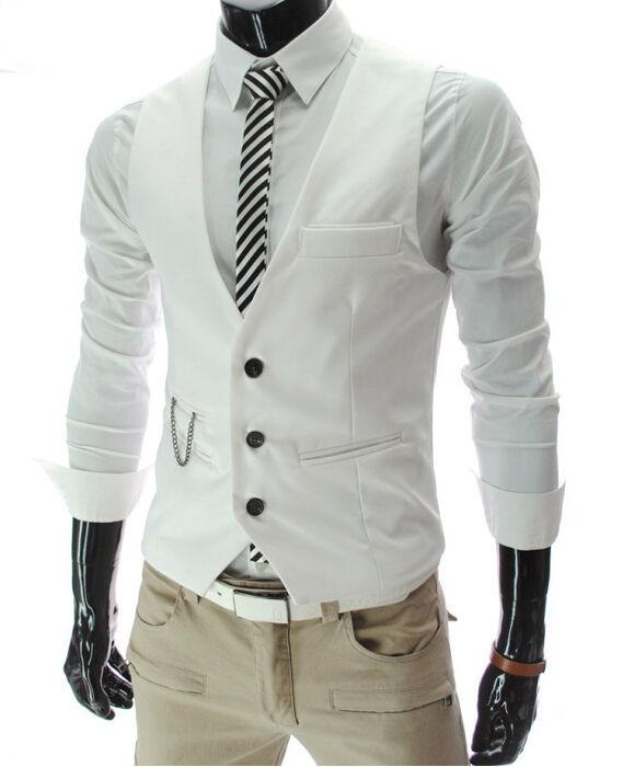 Dress Vests For Men Waistcoat Gilet
