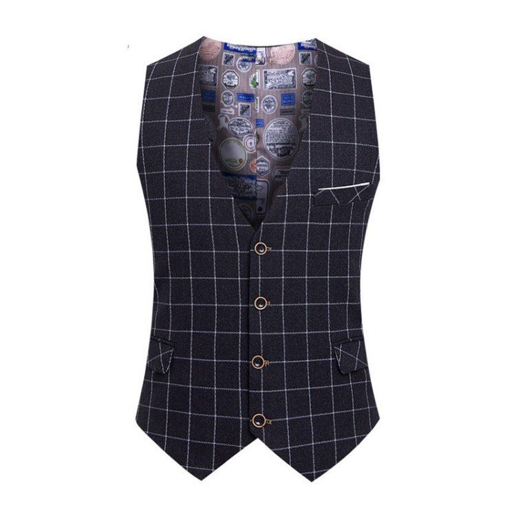 Fashion Suit Vest Dress Vests