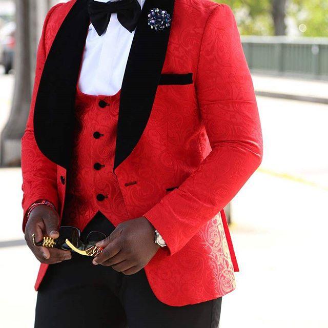Groom Tuxedo Suit Men Suits