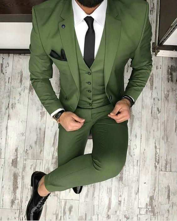 Groom Tuxedo Suit Men Suits