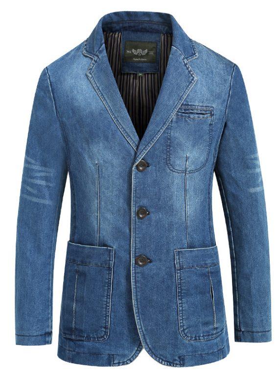 Jeans Blazer Cowboy Jacket