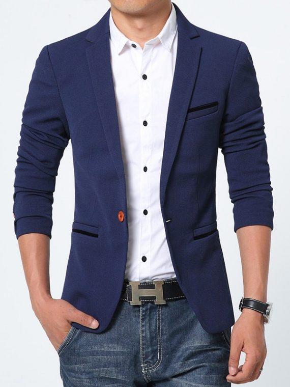 Luxury Men Blazer Masculino Blazers