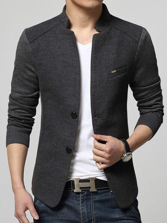 Men's Blazer Patchwork Suits