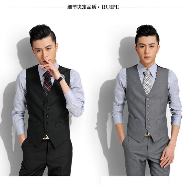 Men's Fashion Design Suit Vest