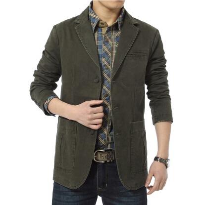 Men Casual Blazers Outwear Coat