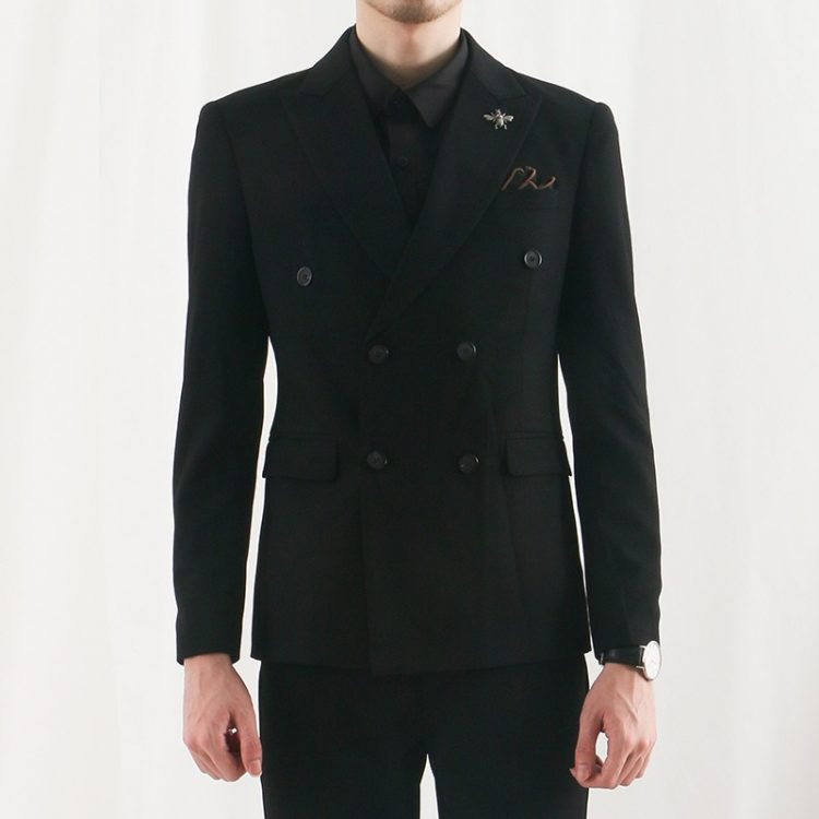 Men Casual Suit Slim Fashion Blazer