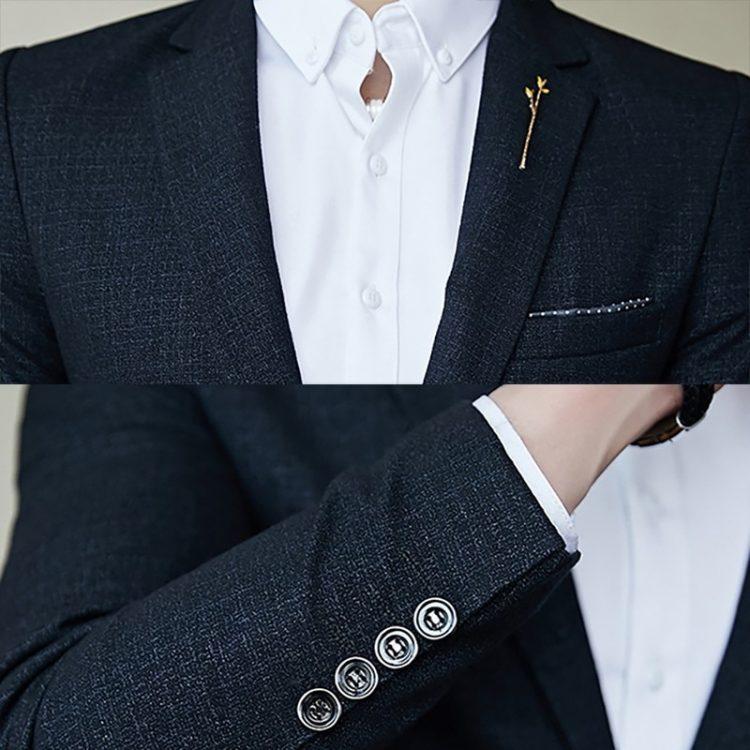 Men's Blazer Vintage Suit Jacket