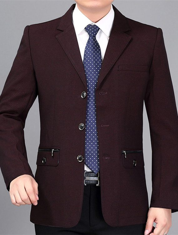 Professional Suit Formal Business Slim Blazer