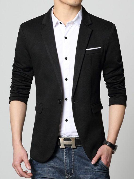 Slim Fit Fashion Blazers