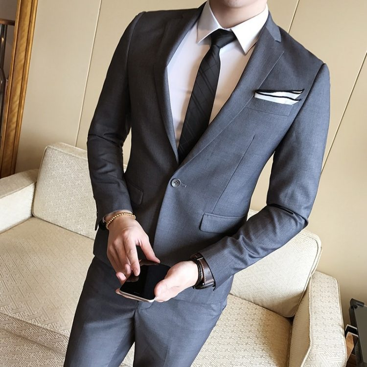 Slim Fit Man Suits Brand Blazer