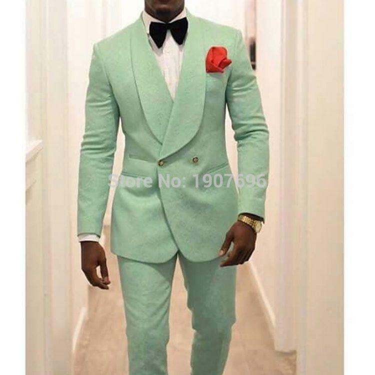 Slim Fit Mens Suits Wedding Groom