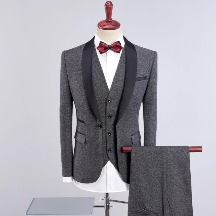 Wedding Suits For Men Shawl Collar