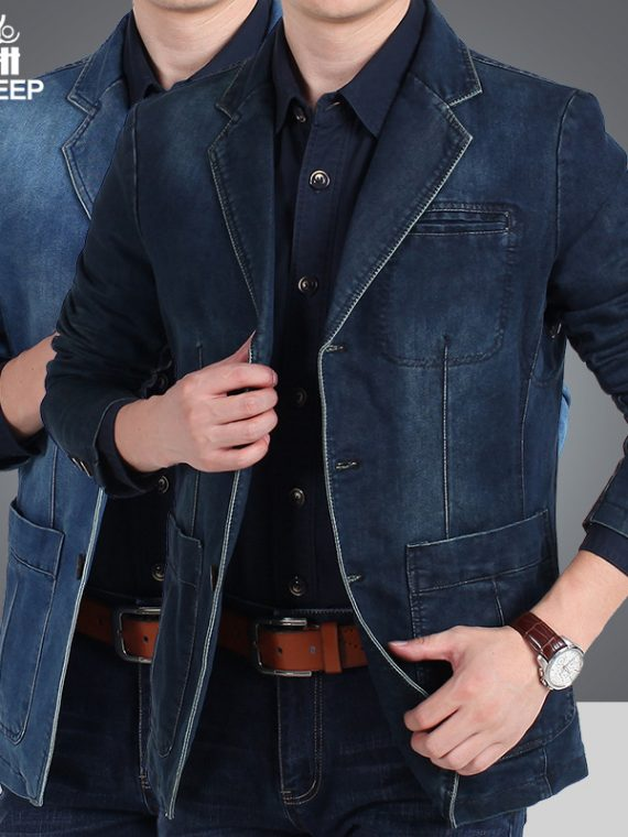 Winter Blazer Casual Men Jacket