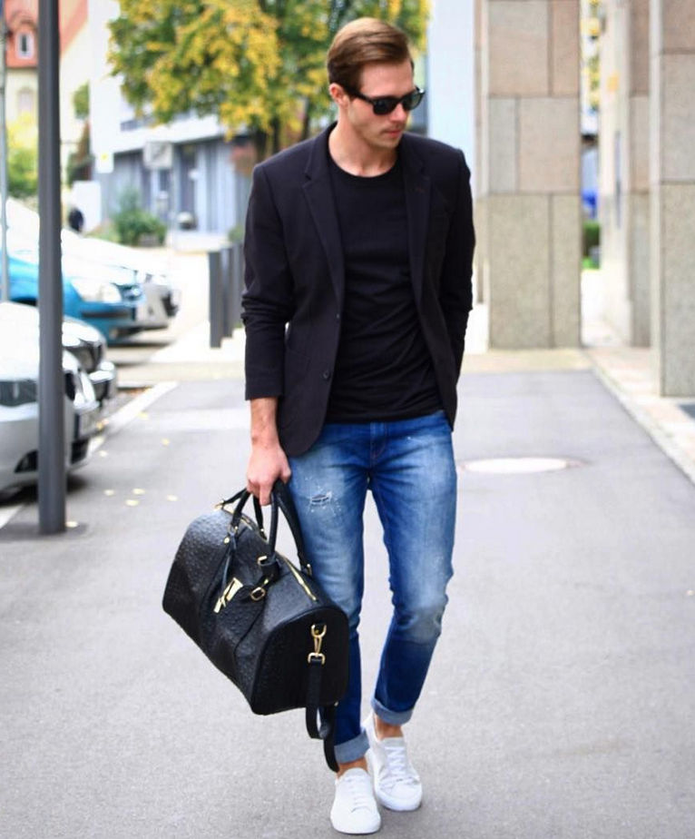 All About Black Blazer for Men