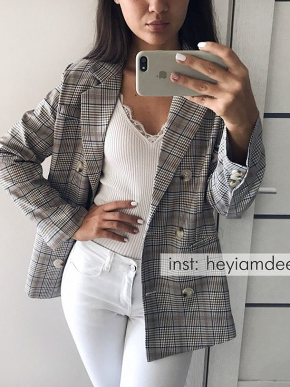 Casual Women Blazer Jacket