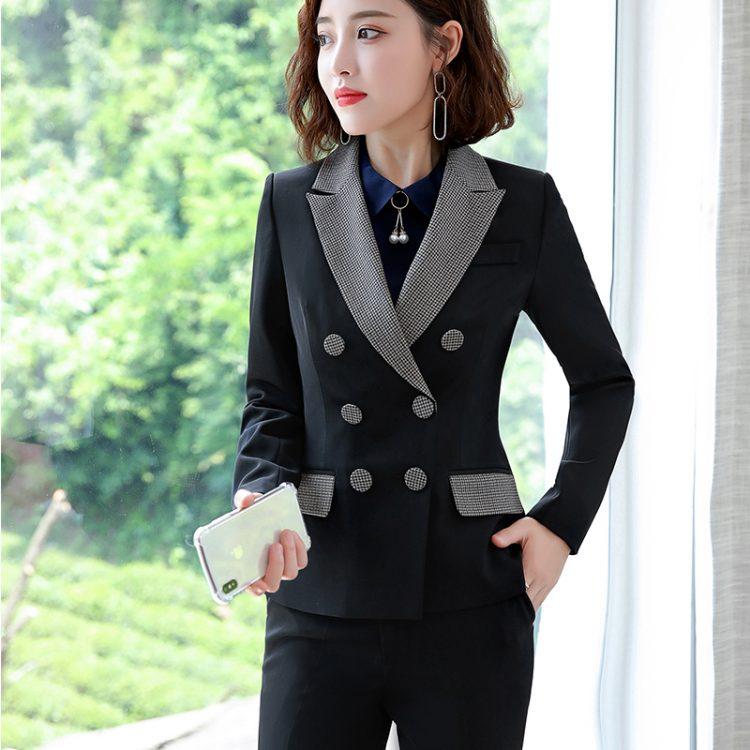 Formal Pant Suit Blazer Jacket