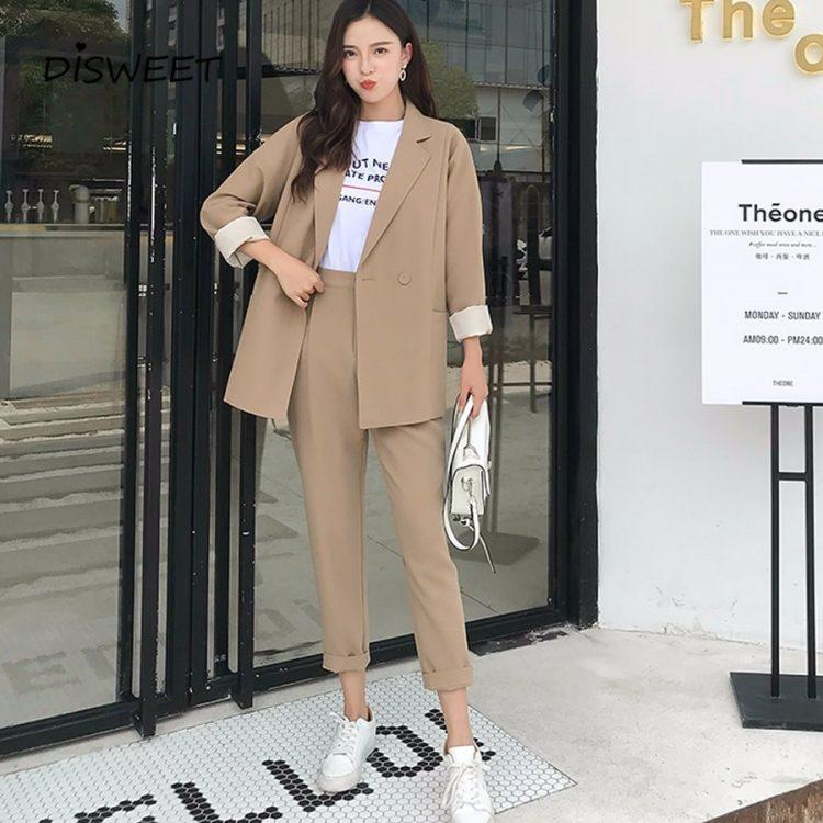 Harajuku Casual Suits Blazer Jacket