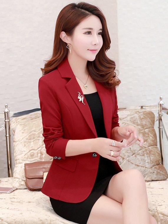 High Quality Women Blazers Short Suit