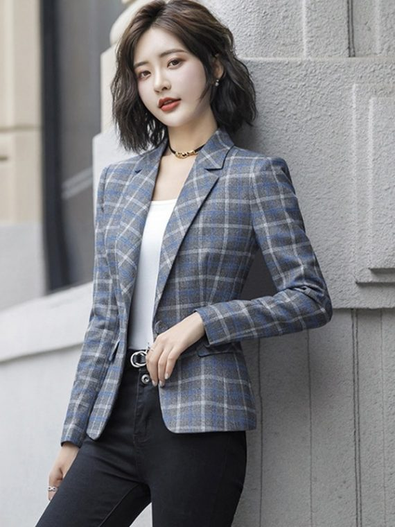 Ladies Blazer Single Button Coat