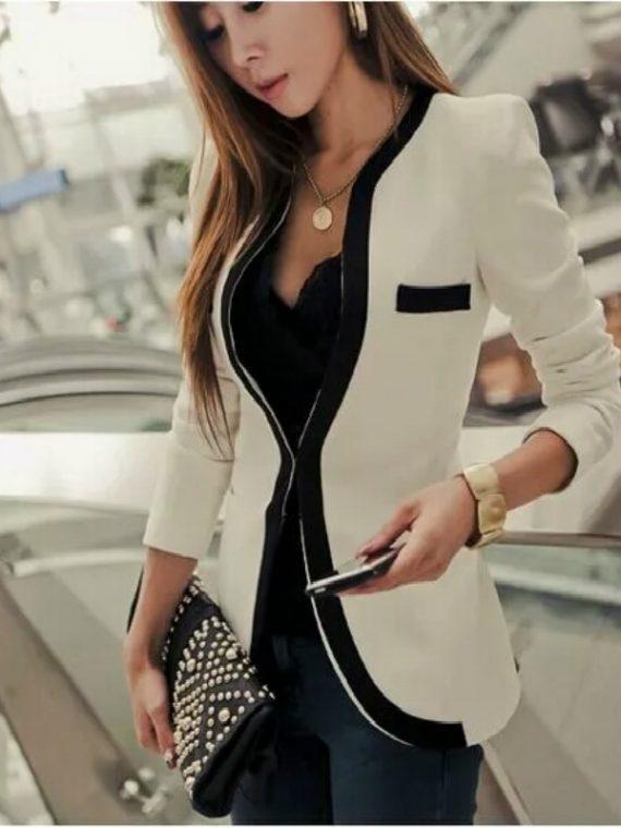 Ladies Blazer Slim Women Suit