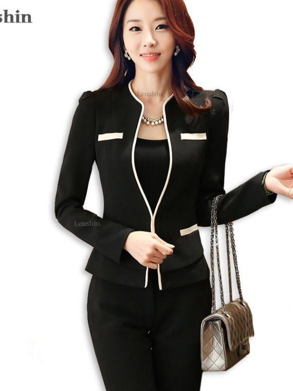 Ladies Blazer Woman Business Suits