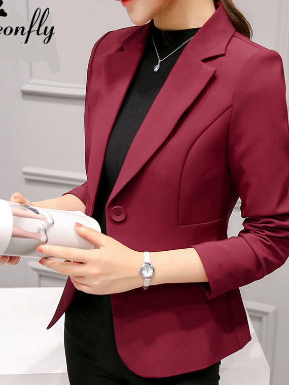 Ladies Blazers Women Suit Jacket