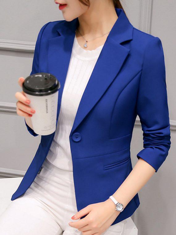Ladies Blazers Women Suit Jacket
