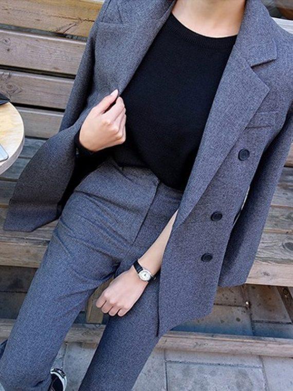 Ladies Fashion Business Pant Suits