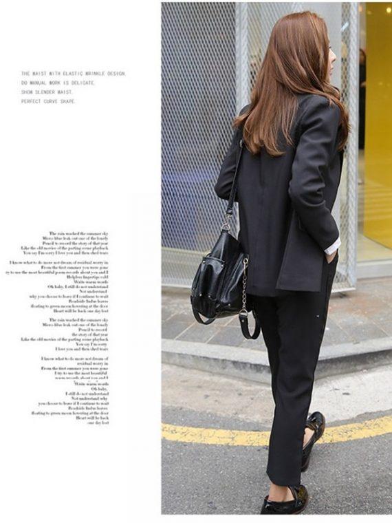 Ladies Pant Suits Blazer Jacket