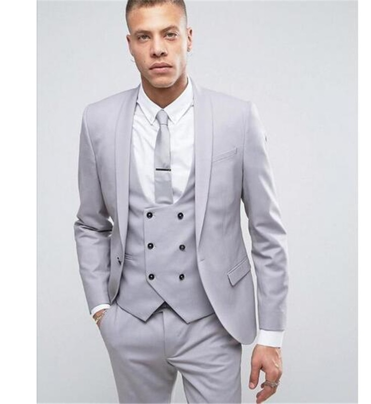 Men Suit Tuxedo Groom Wedding Suits