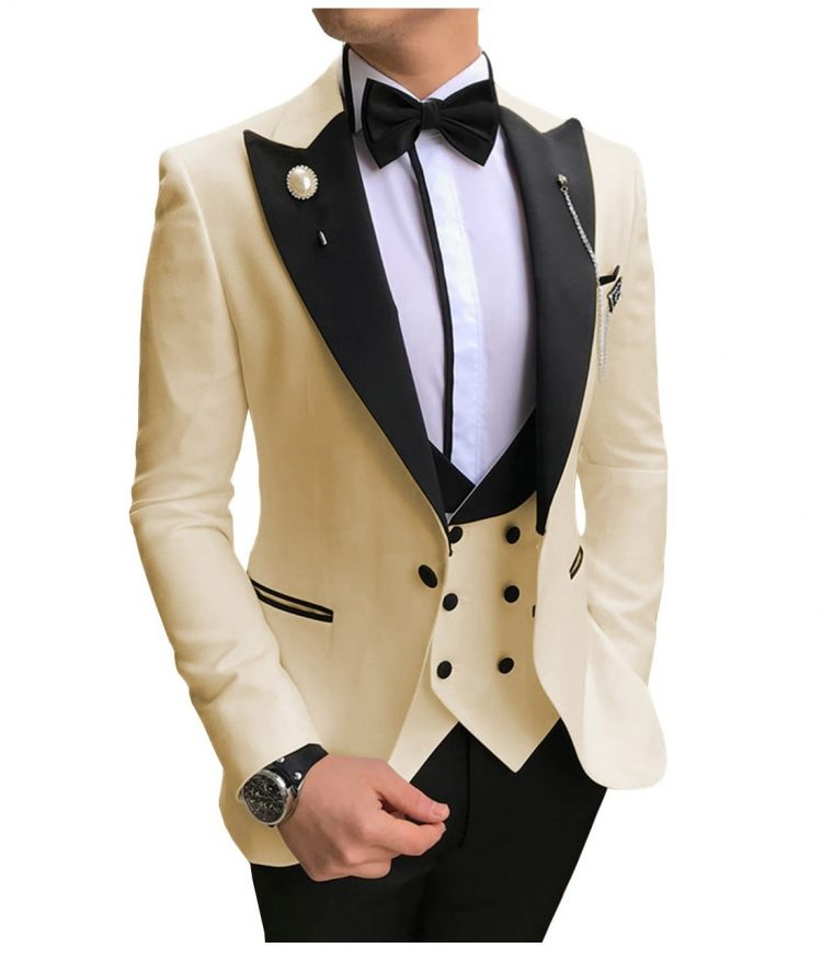 Men Suits Slim Fit Business Suits