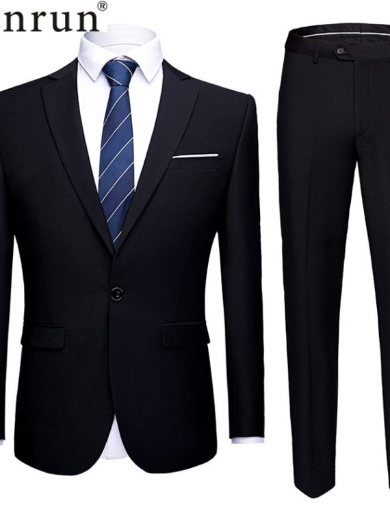 Men Suits Uniform Office Suit
