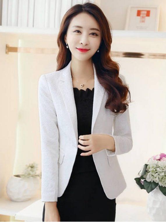Office Ladies Short Suit Blazers