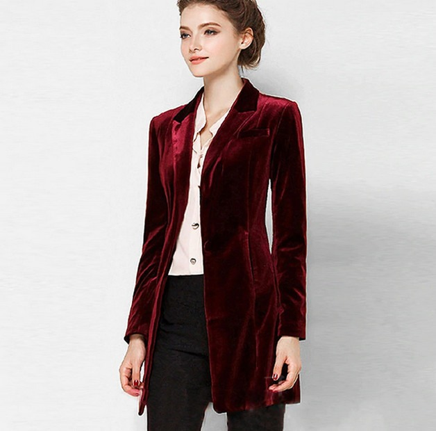Shopping For A Velvet Blazer For Women