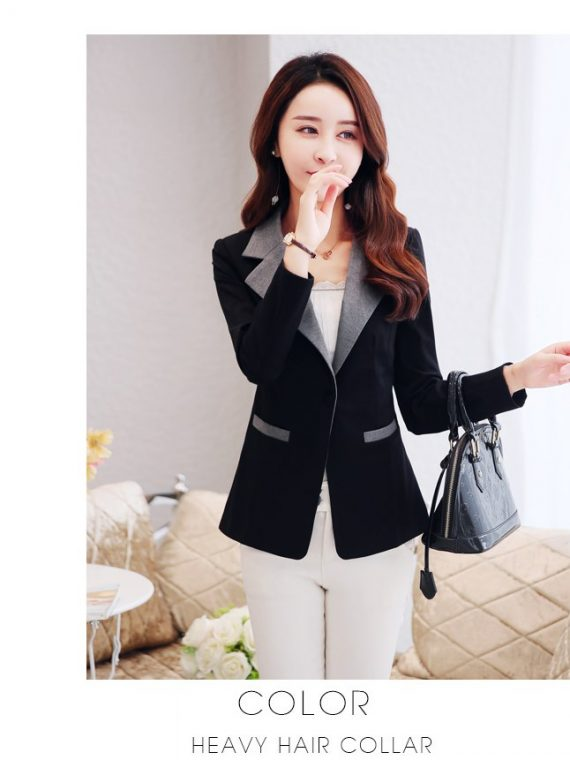 Women's Blazer Fashion Lady Blazers Coat Suits