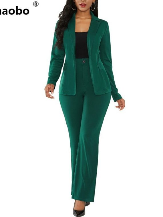 Women Business Suits Casual Blazers