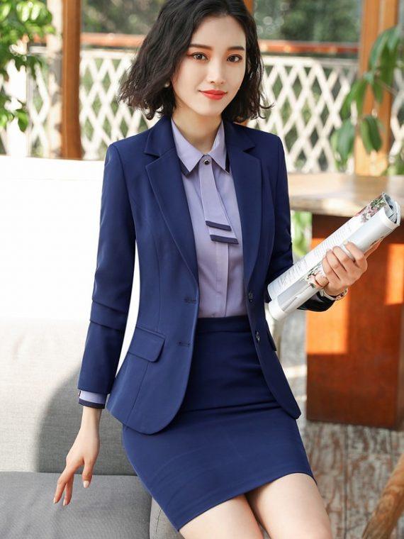 Women Formal Suit Business Blazer
