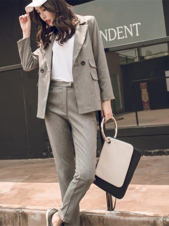 Women Suit Casual Blazer Jacket