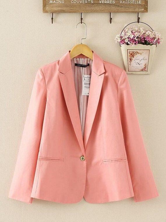 Women Suit Long Sleeves Coat