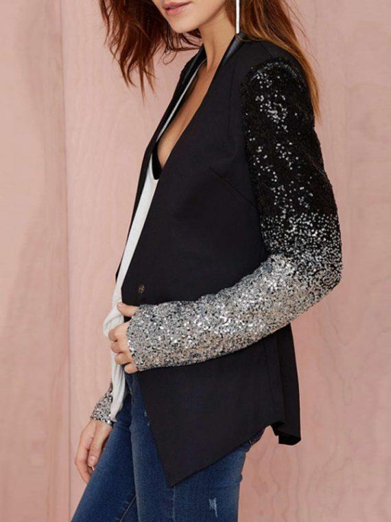 Women Thin Jacket Coat Slim Work Blazers