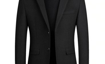 Fashion Tips for Black Blazer For Men