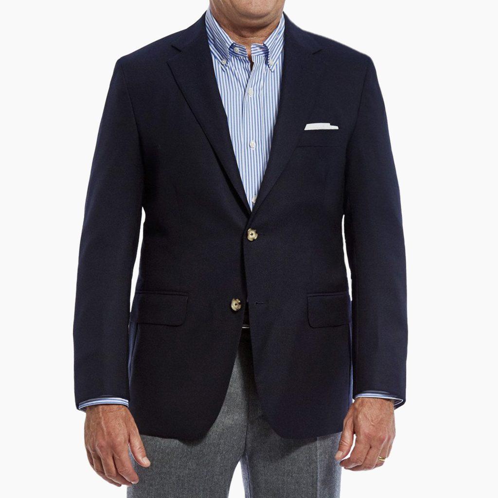 How To Wear A Navy Blazer Properly