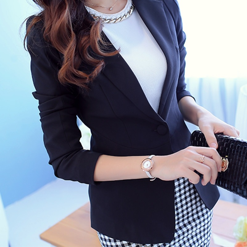 The Perfect Blue Blazer For Women