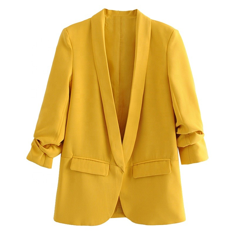 How To Wear A Yellow Blazer For The Fall